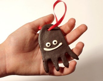 FREEBIE: 2 for 1 Xmas Decoration, Faux Gingerbread Squid