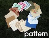 THREE CROCHET PATTERNS - Dishcloths - Pattern pdf file