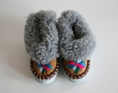 Toddler Vintage Fur Slippers