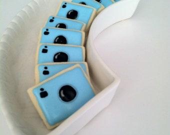 Camera Sugar Cookies, 3 dozen