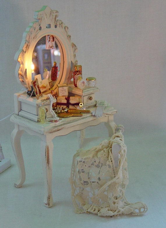 Ladies Filled Dressing Table and matching stool