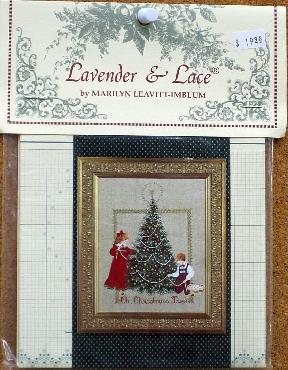 Lavender & Lace - Oh Christmas Tree - Cross Stitch Chart 24