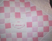 Custom order baby quilt for Liz