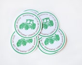 Tractor Return Address Labels