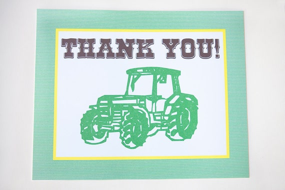 Tractor 8x10 Sign