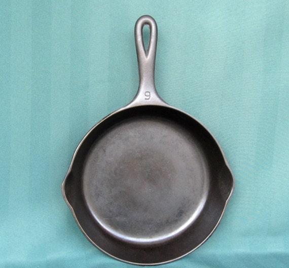 wagner ware cast iron skillet fry pan. Black Bedroom Furniture Sets. Home Design Ideas