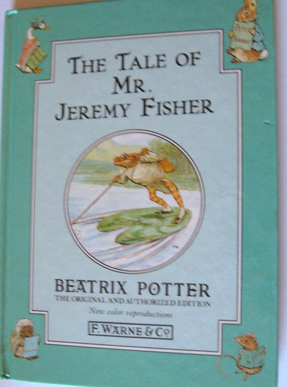 Beatrix Potter The Tailor of Mr. Jeremy Fisher