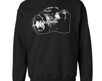 SLR Camera Crew Neck Sweat Shirt Pullover  - ON SALE!