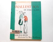 The Smallest Boy in the Class, a Vintage Children's Book