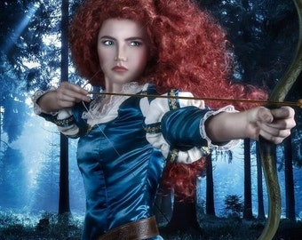 Merida Version A Brave Inspired Costume Adult Screen Quality