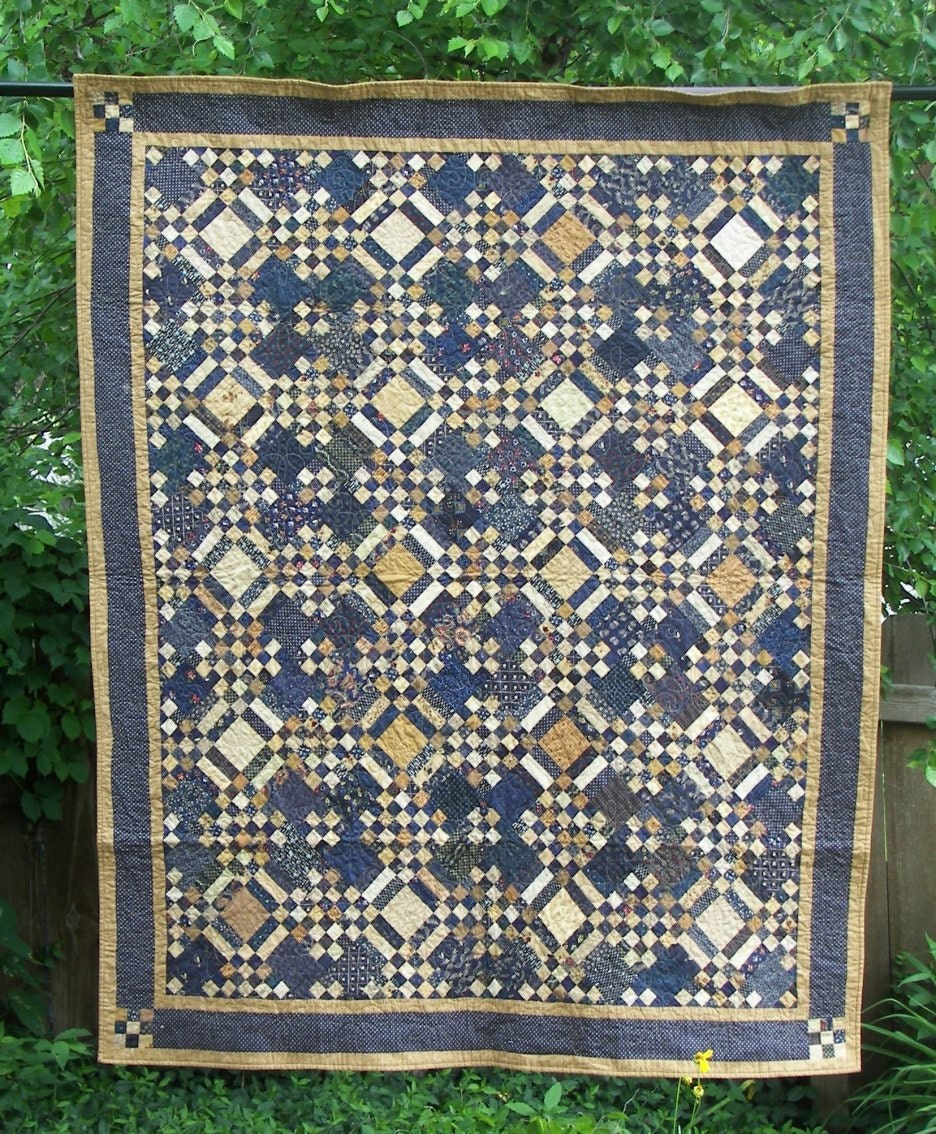 Blue Moon Of Kentucky Quilt Pattern Pdf Reproduction