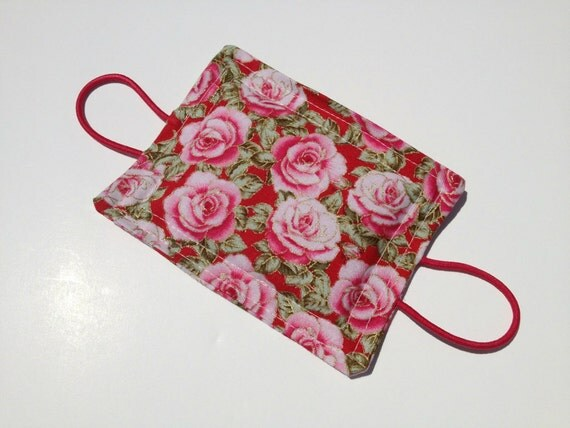 Quiet Closer Door Jammer Catcher Vintage Inspired Roses