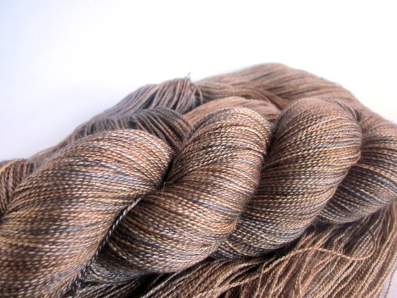 Ishtar Lace. Silk/Baby Camel Lace Yarn.  Magick Mushrooms