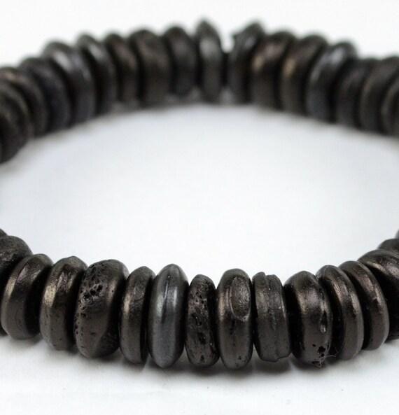 Mens Ethnic Tyre Bead Bracelet