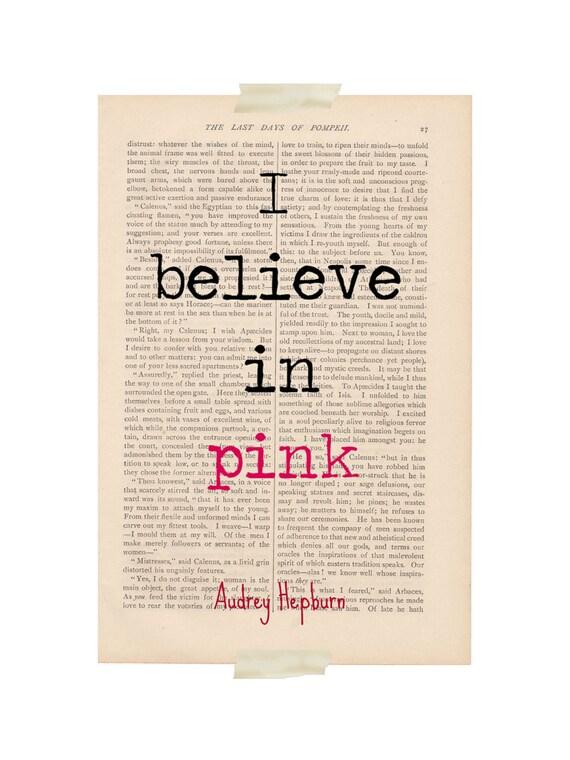 motivational print audrey hepburn quote i by exlibrisjournals