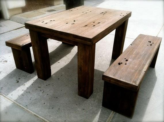 Redwood Dining Table Wingtip Woodwork Reclaimed Redwood  : il570xN3584993495lhj from sherlockdesigner.com size 570 x 426 jpeg 52kB