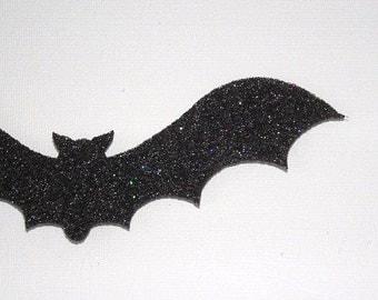 Glitter Felt Bats - Lot of 8