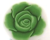 Polymer clay cane Ever green ROSE Cane