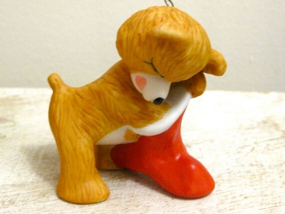 Christmas Ornament Hallmark Cinnamon Bear Vintage 1987