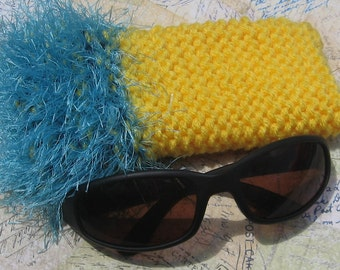 SALE!!! Not-So-Mellow Yellow Sunglass Case