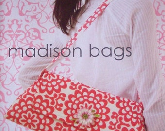 Amy Butler Sewing Pattern Madison Bags with Free US Shipping