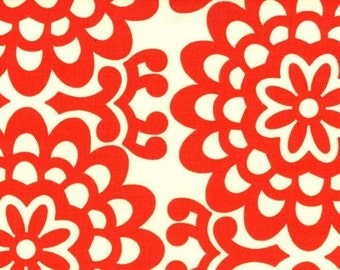 Amy Butler Fabric - Half Yard of Wall Flower in Cherry