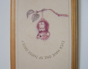 Vintage Picture, Wall Hanging, Print, Photography
