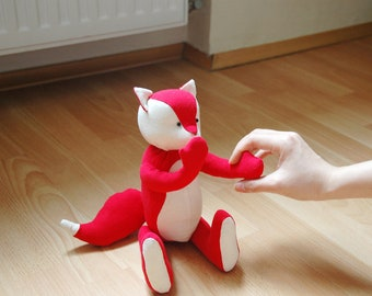 Mr. Fox Kawaii Red Kitsune