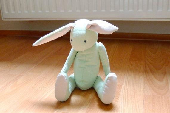 Eco Friendly Bunny Rabbit Baby Green