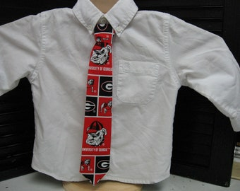 Georgia Bulldogs  Boys Necktie