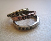 Tri Color ring charms-jewelry supplies-findings-You get 3