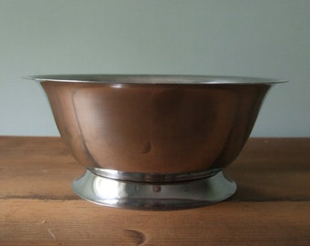 Stainless Steel Decorative Bowl Normandy Distributors NY