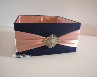 Wedding Box, Program Box, Bubble Box, Centerpiece, Favor  - Custom Made