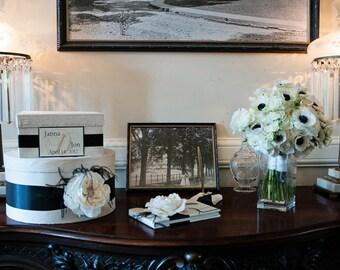 wedding card box, money card box, gift card holder, reception envelope box, Custom Made to Order