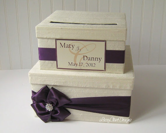 Wedding Card Boxes Money Card Box Custom By Laceyclairedesigns