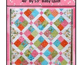 PDF Baby Quilt Pattern Dragonfly Hop Carlene Westberg Designs