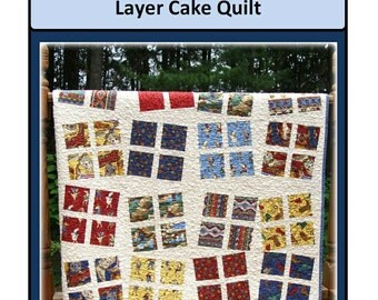 PDF Quilt Pattern Dancing Patchwork Carlene Westberg Designs