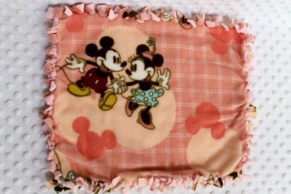Baby Teething Blanket Minnie & Mickey Mouse or a Baby Doll Blanket