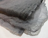 Slate Hand Dyed Cheese Cloth