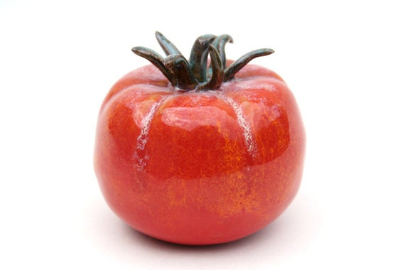 Country Tomato Sculpture