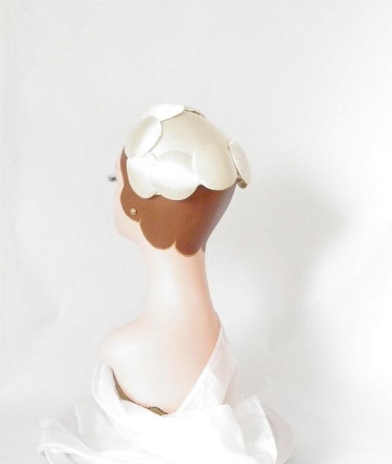 vintage 1950s cocktail hat