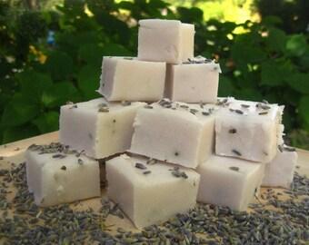 Lavender Vanilla Sugar Scrub Cubes