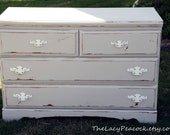 Shabby Chic Grey Dresser / Entry Table / Console / Changing Table