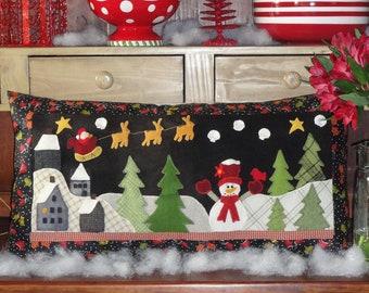 Winter, A Wool Embroidery Pattern