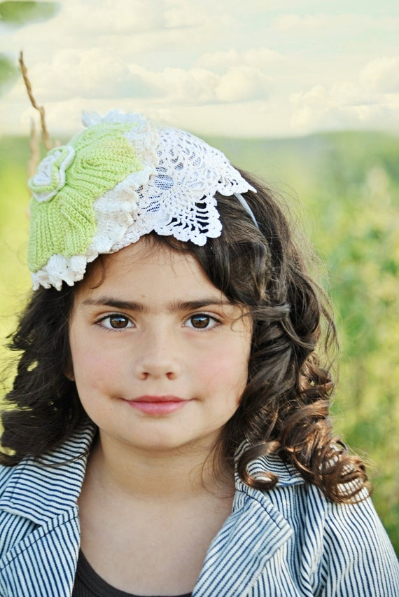 Girls One of a Kind hat headband