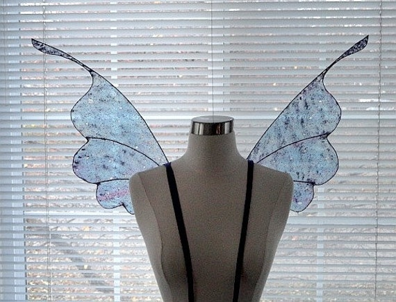 Fairy Wings-Iridescent-Whimsical Fairy Moth-Adult and Children size (Made by Request)