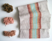 Handwoven Canyon Scarf featuring Cotton and Multi-Öko fibers