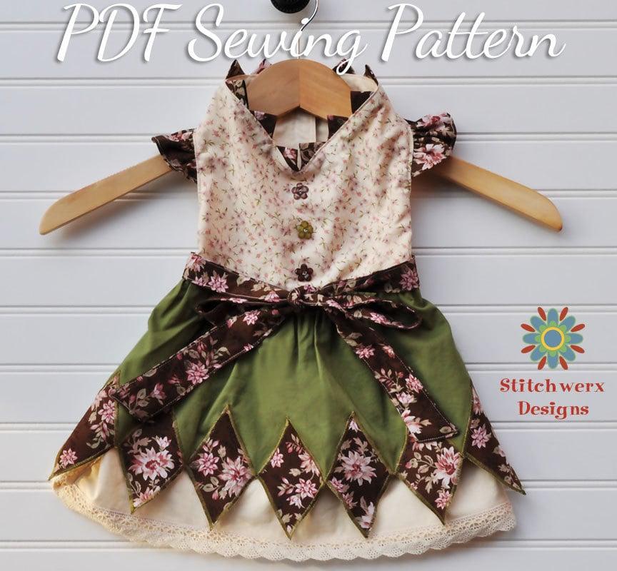 Dog Sweater Sewing Pattern Small Dog Dress Sewing Pattern