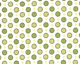 Windsor Lane - Dots in Sprig by Bunny Hill Designs for Moda Fabrics