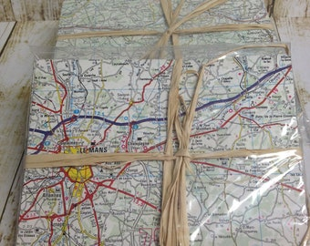 French Road Atlas/ Map Envelopes- 20 count